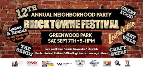 Bricktowne Festival - 2019 tickets