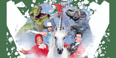 Carson & Barnes Circus Presents CircusSaurus - Sponsored By: Pryor Lions Club