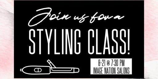 Basic Styling and Haircare Class