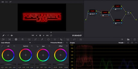Video Editing with DaVinci Resolve Part II: Colour Grading tickets