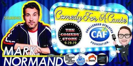 2019 Comedy For A Cause: Headliner Mark Normand tickets