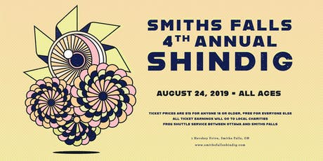 Smiths Falls Shindig 2019 tickets