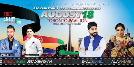 Afghanistan's 100th Independence Day at The Toronto Pavilion tickets
