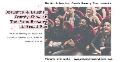 Draughts & Laughs: Beer and Comedy Show at The Farm Brewery at Broad Run