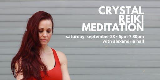 Crystal Reiki Meditation