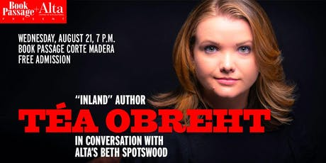 """Inland"" Author Tea Obreht tickets"