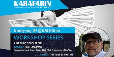 Karafarin Workshop Series: Financing Your Startup tickets