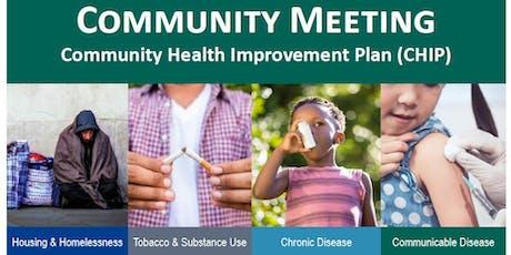 Stanislaus County: Community Health Improvement Plan - Community Meeting tickets