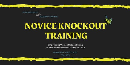 Novice Knockout Training  - empowering women through boxing