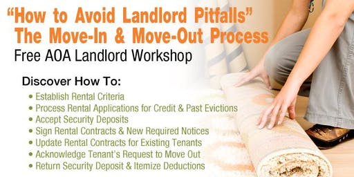 The Move-in & Move-out Process - How to Avoid Landlord Pitfalls (VN)