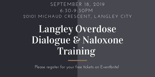 Langley Overdose Dialogue & Training
