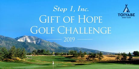 Step 1 — Gift of Hope Golf Challenge 2019 tickets