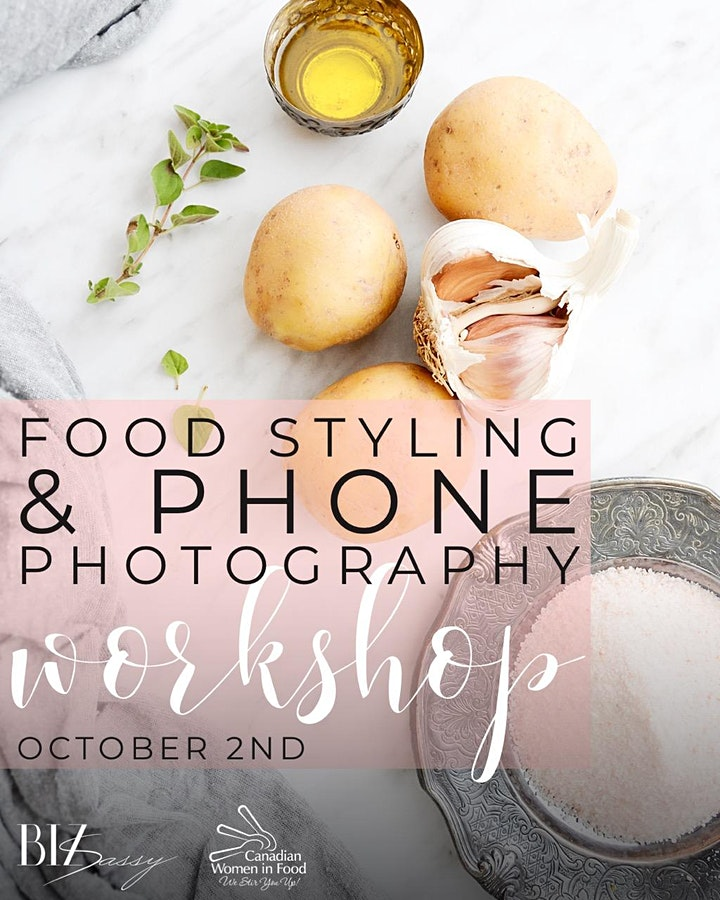Food Styling and Phone Photography Workshop image