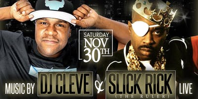 All Black Everything  (BLACKOUT) w/  DJ Cleve & Slick Rick