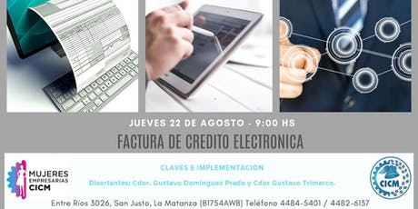 FACTURA DE CREDITO ELECTRONICA entradas