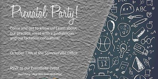 Prenatal Party (Sommerville - Midlothian)