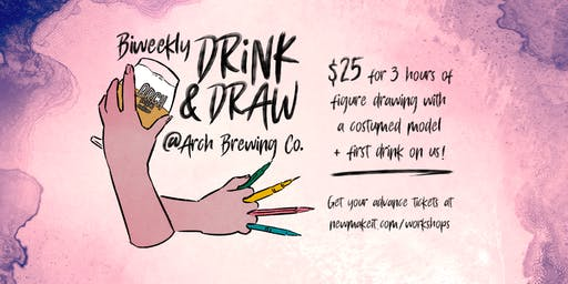 Drink and Draw - Instructed Figure Drawing