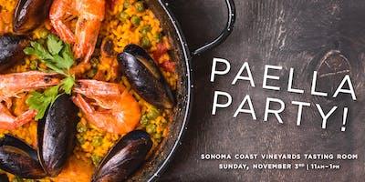 Sonoma Coast Vineyard Paella Party