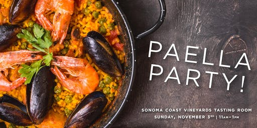 Sonoma Coast Vineyard Paella Party