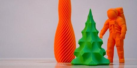 Beginner 3D Printing: Printer Basics tickets