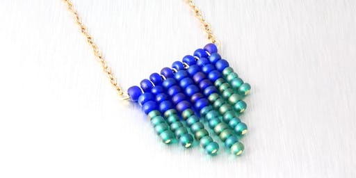 MAKE, CRAFT & DO: Fantastic Fringe Necklace with Alison Lesniak
