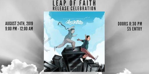 Leap Of Faith Release Celebration