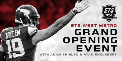 ETS West Metro Grand Opening - Meet All-Pro NFL Wide Receiver ADAM THIELEN!