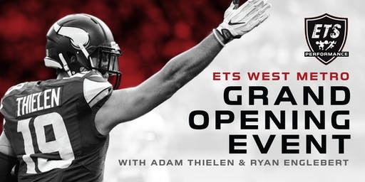 ETS West Metro Grand Opening - Meet All-Pro NFL Wide Receiver ADAM THIELEN!