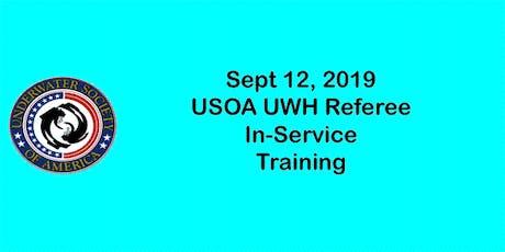USOA UWH Referee Training Update Webinar tickets