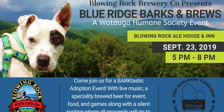 Blue Ridge Barks & Brews tickets