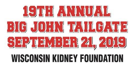 19th Annual Big John Tailgate tickets