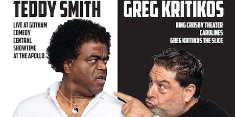 Unity Comedy Show w/ Teddy Smith & Greg Kritikos tickets