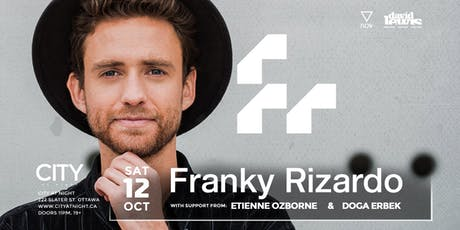 Franky Rizardo at City At Night tickets