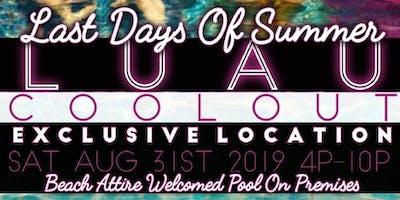 Last Days Of Summer Pool-Fest