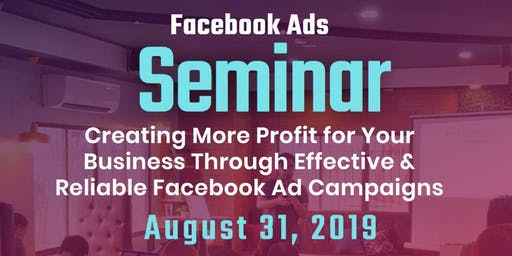 Facebook Advertising Seminar