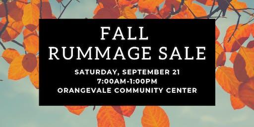 OVparks Fall Rummage Sale