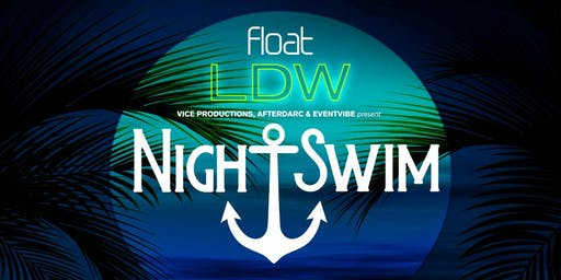 Free Entry to Night Swim Pool Party Labor Day Weekend!