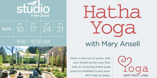 Hatha Yoga with Mary Ansell