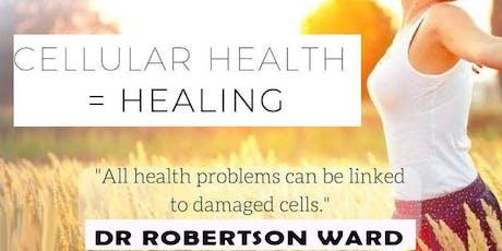 Cellular Health = Healing tickets
