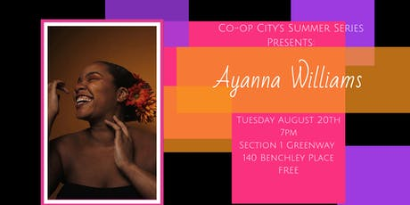 Co-op City Presents: Ayanna Williams tickets