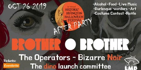 Irvington Halloween Festival AFTER PARTY tickets