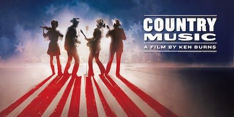 Ken Burns: Country Music Film Screening tickets