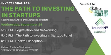 Invest Local 101: The Path to Investing in Startups tickets