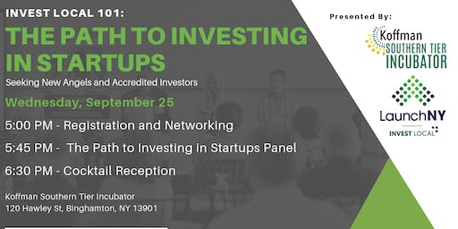 Invest Local 101: The Path to Investing in Startups