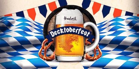 Decktoberfest @thedeck Wynwood - 9/19 tickets