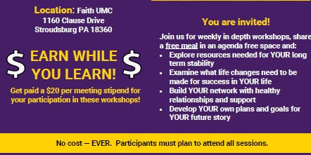 Get PAID $400 to learn!! Registration REQUIRED
