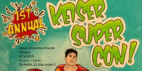 Keiser Super Con tickets