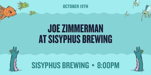 Joe Zimmerman at Sisyphus Brewing