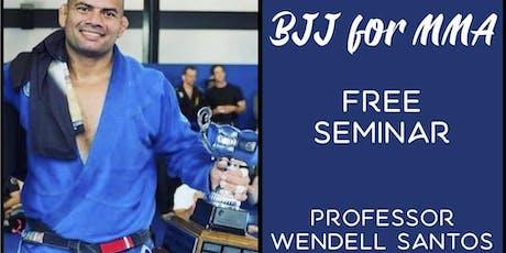 FREE Brazilian Jiu-Jitsu for MMA Seminar in Riverside tickets