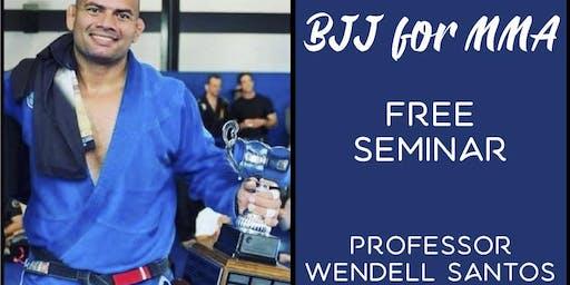 FREE Brazilian Jiu-Jitsu for MMA Seminar in Riverside